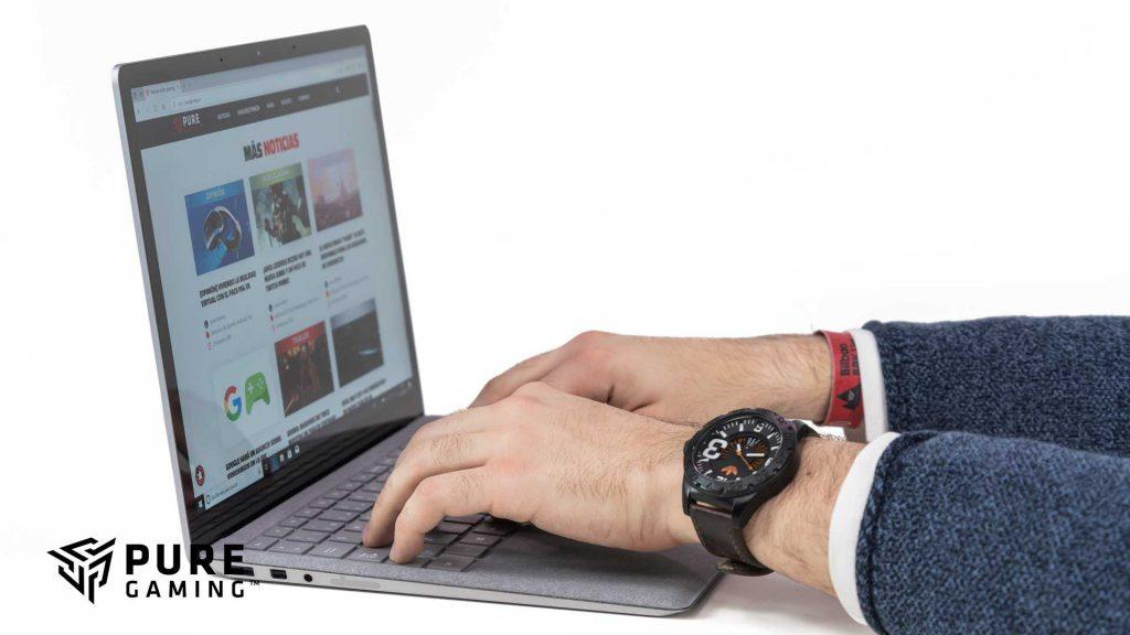 teclado surface laptop 2