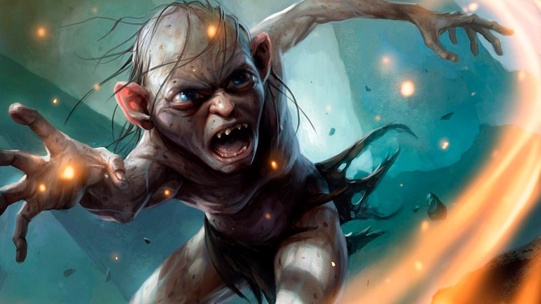 lanzamiento lord of the rings gollum