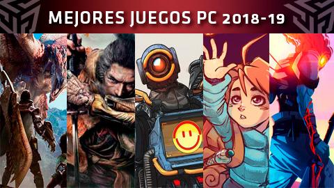 Lista de los mejores juegos para PC de 2018 y 2019