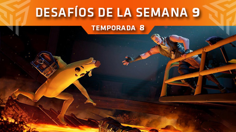 Desafíos de la Semana 9 de Fortnite: Battle Royale (Temporada 8)