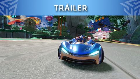 SEGA muestra un nuevo tráiler de Team Sonic Racing