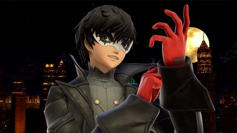 Super Smash Bros. Ultimate recibe a Joker junto con la actualización 3.0
