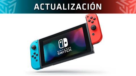 Nintendo Switch se actualiza a la versión 8.0.0