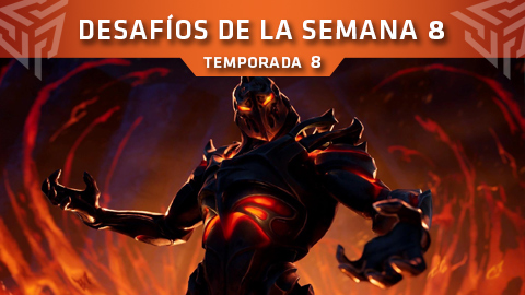 Desafíos de la Semana 8 de Fortnite: Battle Royale (Temporada 8)