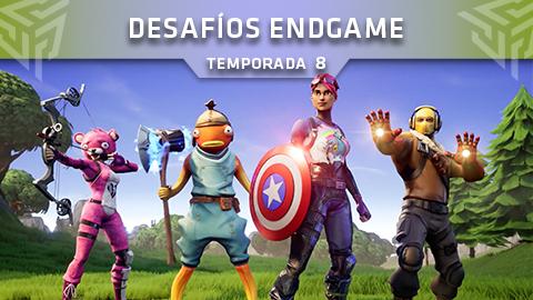 Desafíos Endgame de Fortnite: Battle Royale (Temporada 8)