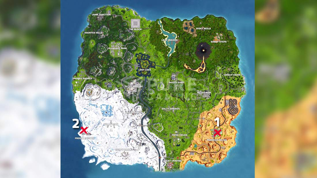 Fortnite Temporada 8 Mapa.Desafios De La Semana 8 De Fortnite Battle Royale Temporada 8