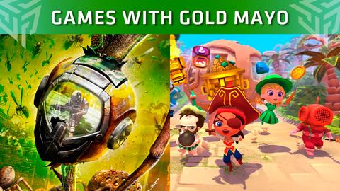 Xbox Live Gold: Juegos gratuitos del mes de mayo