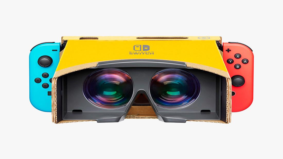 Mario Zelda Labo VR
