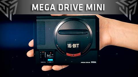 SEGA detalla el lanzamiento y el precio de la nueva Sega Mega Drive Mini