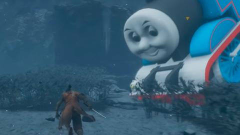 Thomas el Tren llega a Sekiro: Shadows Die Twice gracias a este mod
