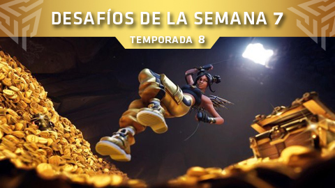 Desafíos de la Semana 7 de Fortnite: Battle Royale (Temporada 8)
