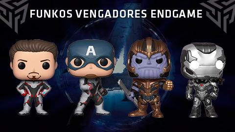 Llegan los Funkos de Avengers: Endgame