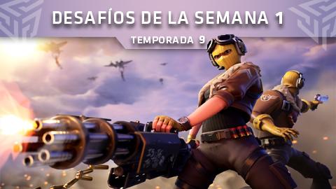 Desafíos de la Semana 1 de Fortnite: Battle Royale (Temporada 9)