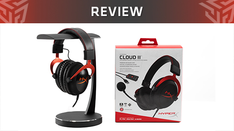 Review de los auriculares gaming HyperX Cloud II