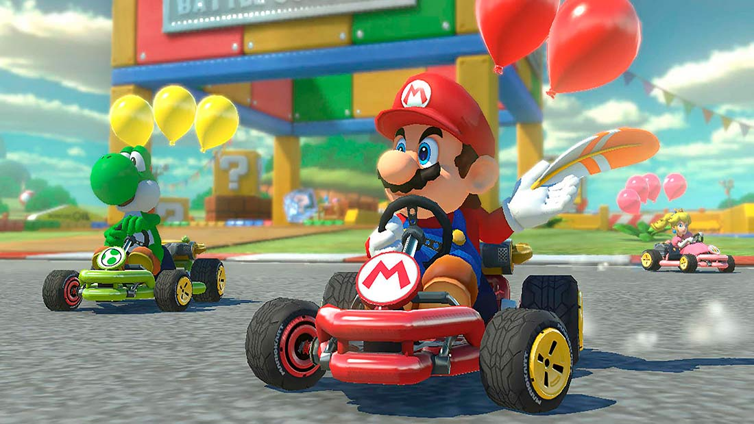gameplay mario kart tour