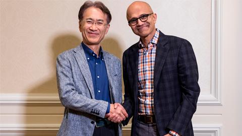 Sony y Microsoft anuncian una colaboración para impulsar sus servicios en la nube