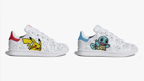 ¡Os mostramos cómo son las nuevas zapatillas pokémon de Adidas!