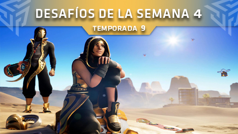 Desafíos de la Semana 4 de Fortnite: Battle Royale (Temporada 9)