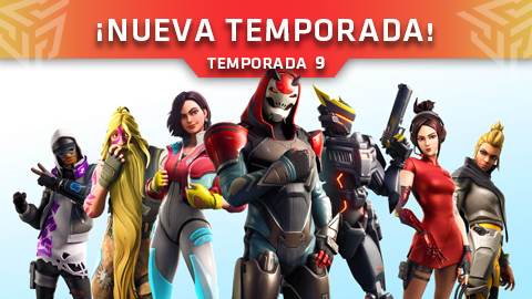 ¡La Temporada 9 ya ha llegado a Fortnite: Battle Royale! (Parche V9.00)