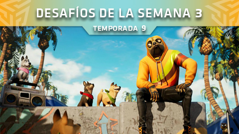 Desafíos de la Semana 3 de Fortnite: Battle Royale (Temporada 9)