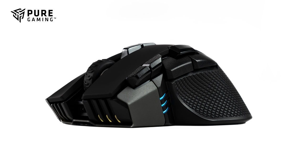 Corsair Ironclaw RGB Wireless lateral