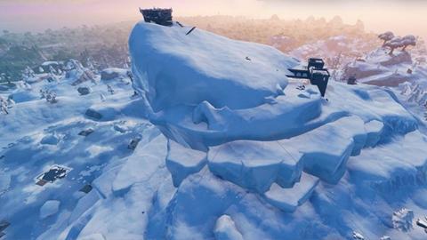 Fortnite: ¡El iceberg de Pico Polar muestra un ojo!
