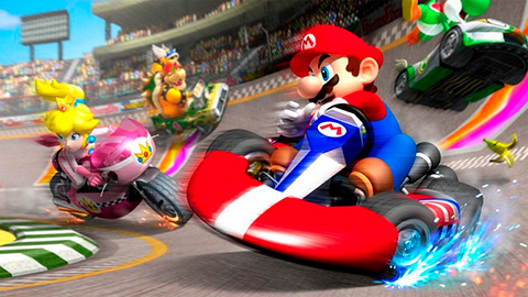 Se filtra gameplay de Mario Kart Tour
