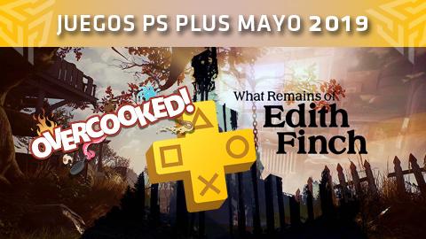 Juegos PlayStation Plus: mayo de 2019