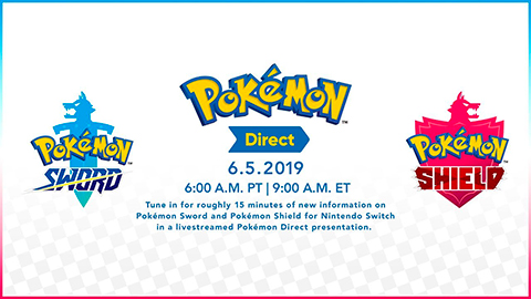 Anunciado un Pokémon Direct para el 5 de junio