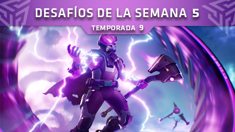 Desafíos de la Semana 5 de Fortnite: Battle Royale (Temporada 9)