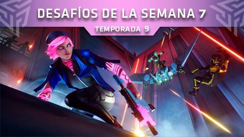 Desafíos de la Semana 7 de Fortnite: Battle Royale (Temporada 9)