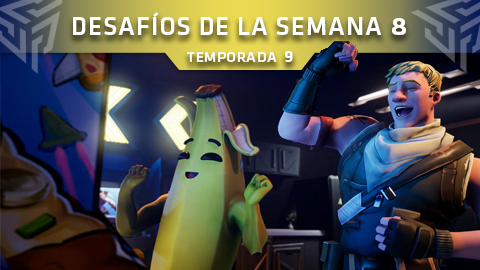 Desafíos de la Semana 8 de Fortnite: Battle Royale (Temporada 9)