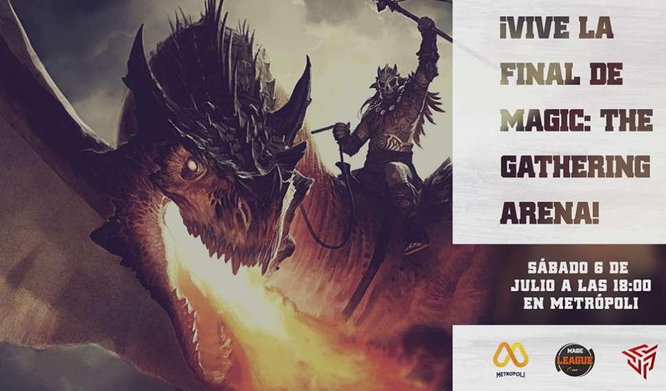 La final de la Gamefield Magic League se vivirá en Metrópoli Gijón el 6 de julio