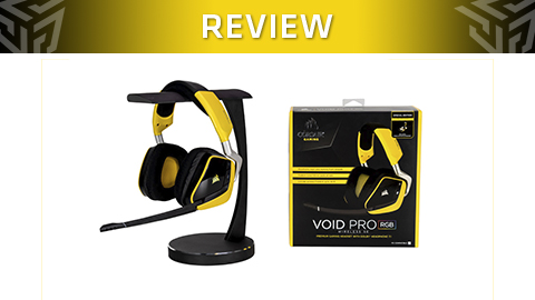 Review de los Auriculares Gaming Corsair Void Pro RGB Wireless