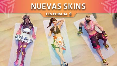¡El verano llega a Fortnite: Battle Royale con las nuevas skins!