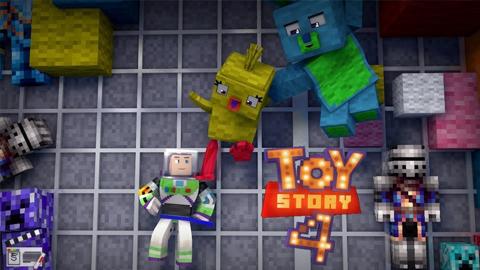 Minecraft presenta su crossover con Toy Story 4
