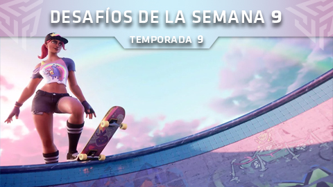 Desafíos de la Semana 9 de Fortnite: Battle Royale (Temporada 9)