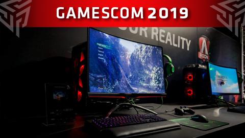 AOC y MMD presentan nuevos monitores gaming en Gamescom 2019