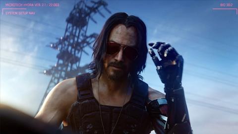Keanu Reeves podría no ser el único famoso presente en Cyberpunk 2077