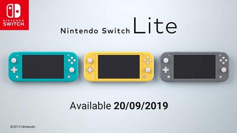 Nintendo presenta la nueva Nintendo Switch Lite