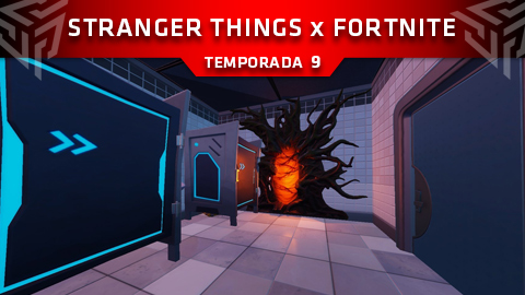 Stranger Things llega a Fortnite: Battle Royale en forma de evento misterioso