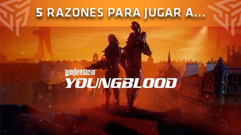 Estas son las 5 razones por las que deberíais jugar a Wolfenstein: Youngblood