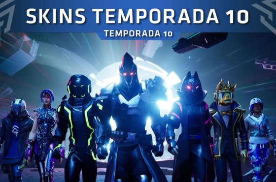 Temporada 10 Fortnite: Skins, Alas Delta, Picos, Mochilas…