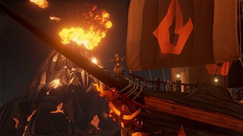 Un desarrollador de Rare confirma por error la llegada del fuego a Sea of Thieves