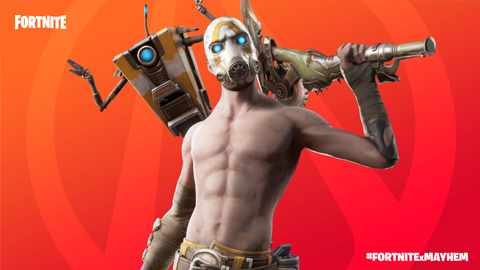 Borderlands y Fortnite se unen para crear el evento #FortniteXMayhem