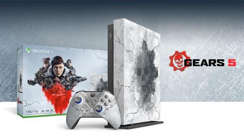 Microsoft anuncia una Xbox One X: Edición Limitada de Gears 5