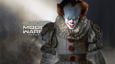 La versión Alpha de Call of Duty: Modern Warfare oculta un Easter Egg de 'IT'