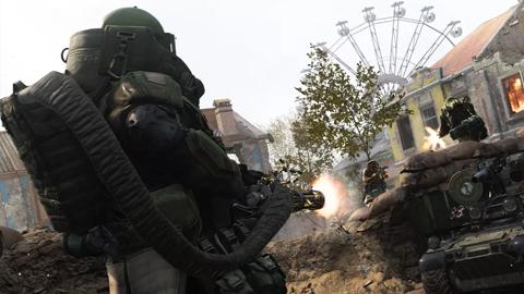 Los desarrolladores de Call of Duty: Modern Warfare experimentan con mapas para 100 jugadores