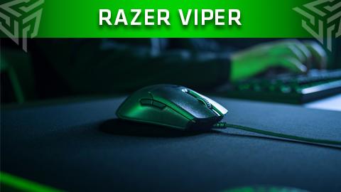 El nuevo Razer Viper y sus switches ópticos suben el nivel de los Esports