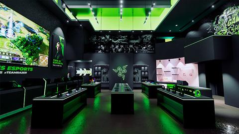 La tienda de Razer más grande hasta la fecha abrirá sus puertas en Las Vegas